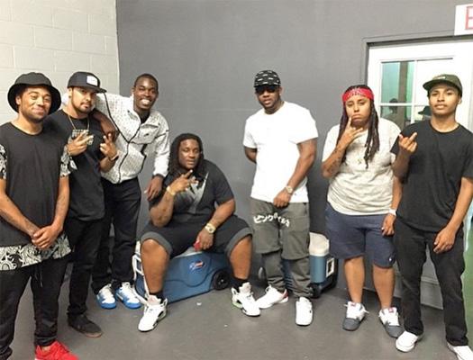 On Set Of Lil Wayne Glory Video Shoot