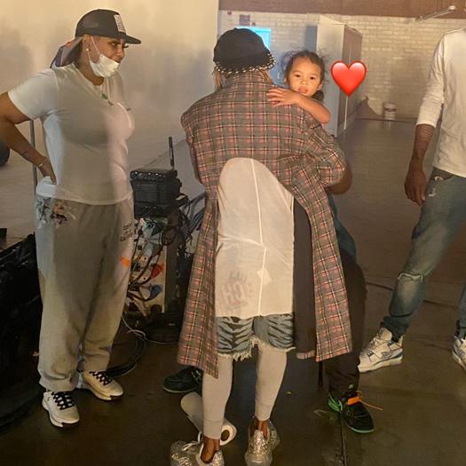 On Set Of Lil Wayne, Gudda Gudda & HoodyBaby NFL Video