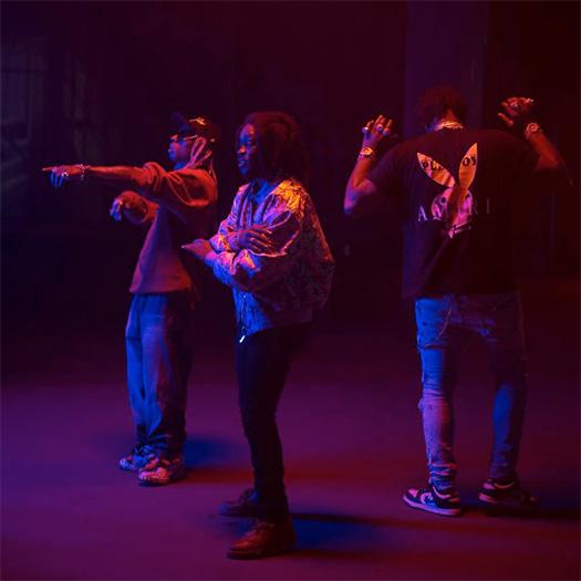 On Set Of LPB Poody, Lil Wayne & Moneybagg Yo Batman Remix Video Shoot