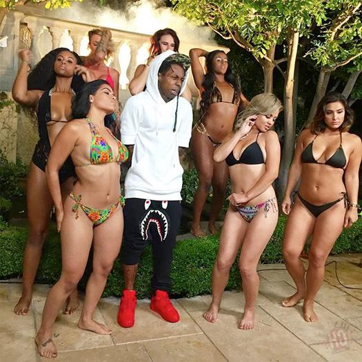 On Set Of OT Genasis & Lil Wayne Do It Video Shoot In Los Angeles