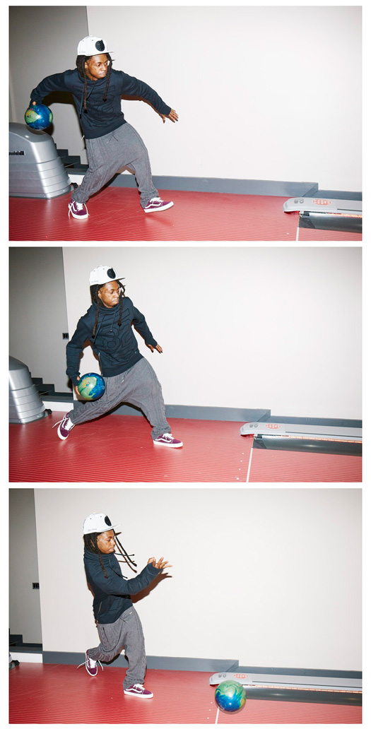 Outtakes From Lil Wayne Photo Shoot With Ben Rayner For NYLON Guys Magazine