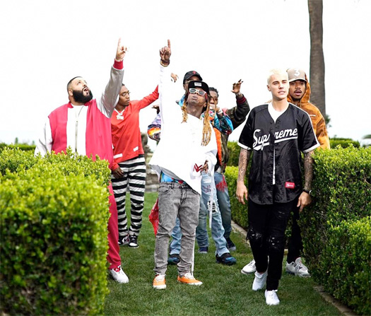 DJ Khaled Im The One Single Featuring Lil Wayne, Justin Bieber, Quavo & Chance The Rapper Goes Quadruple Platinum
