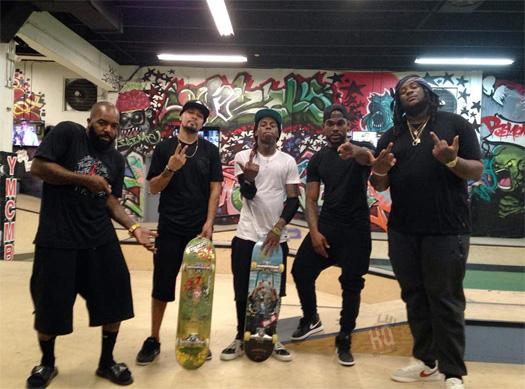 Preview New Lil Wayne Music As He Skates At His TRUKSTOP Park