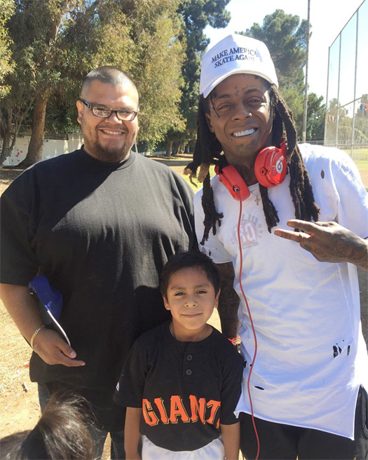 Preview An Unreleased Lil Wayne Song During Evan Hernandez Skating Session At The TRUKSTOP