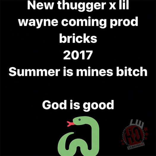 Producer BricksDaMane Reveals Young Thug & Lil Wayne Have A New Collaboration Dropping This Year