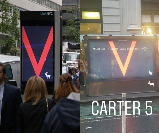 Promo Billboards For Lil Wayne Tha Carter V Album Have Started To Pop Up