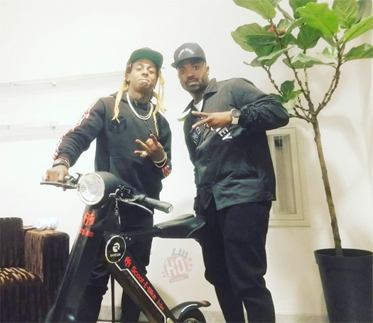 Ray J & Lil Wayne Team Up To Release A Young Money Scoot-e-Bike