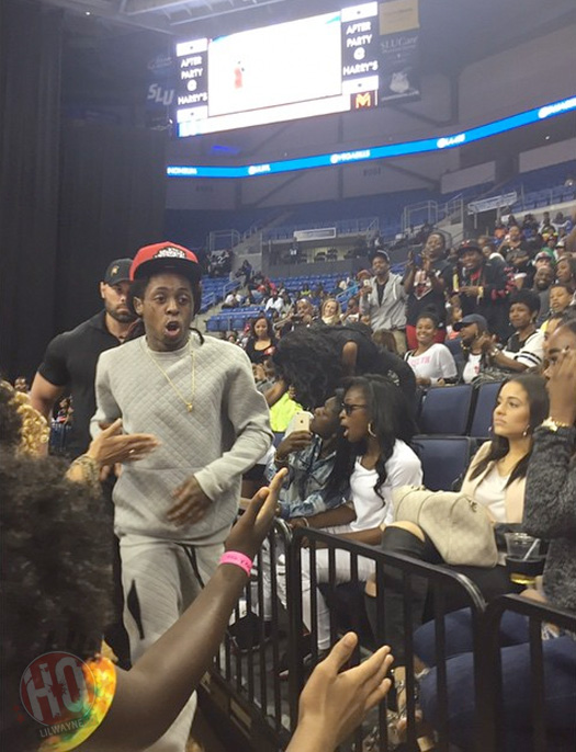 A Recap Of Lil Wayne At The 4th Annual Celebrity Basketball Game In St Louis