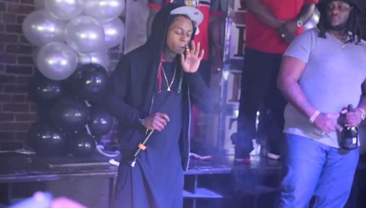 Recap Of Lil Wayne Appearance & Live Performance At Kokopellis In Shreveport