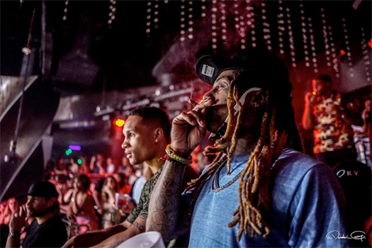 Recap Of Lil Wayne At STORY Nightclub In Miami With His Young Money Artists & Boxer Regis Prograis