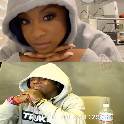 Watch Reginae Carter Re-Enact Her Father Deposition Tape & Find Out How Lil Wayne Reacted To It