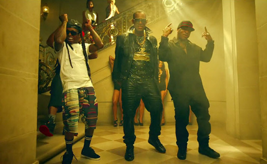 Rico Gang Lil Wayne, Birdman & R Kelly fomos On Music Video