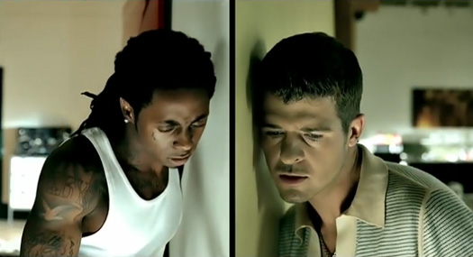 Preview Lil Wayne & Robin Thicke Aint None Of Your Business Collaboration