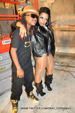 Pictures Of Young Money On The Set Of Roger That & Girl I Got You