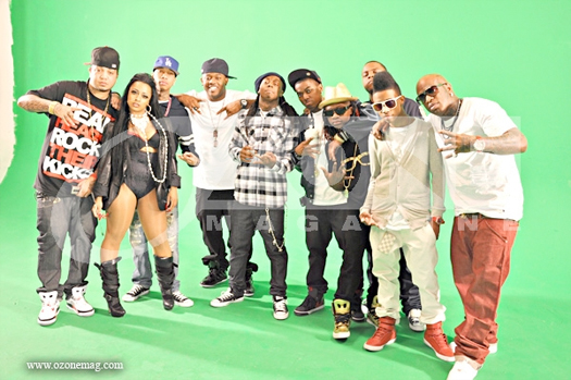 Young Money Roger That Video Shoot