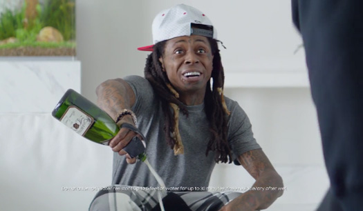 Samsung & Lil Wayne Champagne Calls Commercial Tops iSpot Weekly Rankings