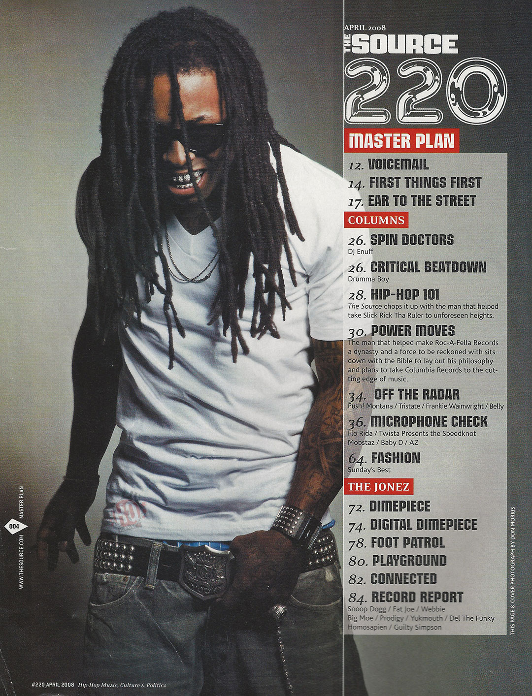 TBT Lil Wayne's Cover Story For The Source Mag's 20 Issue