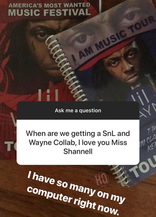 Shanell Says She Has So Many Unreleased Lil Wayne Collaborations