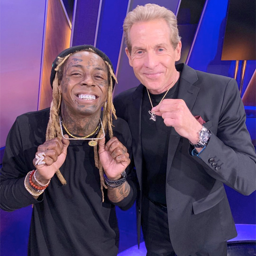 Skip Bayless Shares Last Text Messages With Lil Wayne