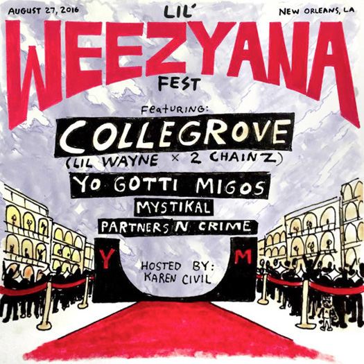 Special Guests For Lil Wayne 2016 Lil Weezyana Fest Have Been Announced