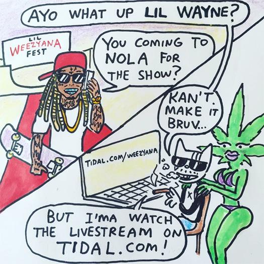 Stream Lil Wayne 2nd Annual Lil Weezyana Fest Live