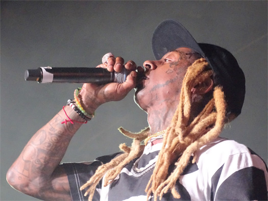 Swizz Beatz Brings Out Lil Wayne At His No Commission Show During Art Basel Week In Miami