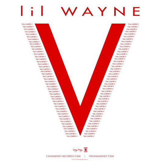 Artwork For Lil Wayne Tha Carter 5 Album