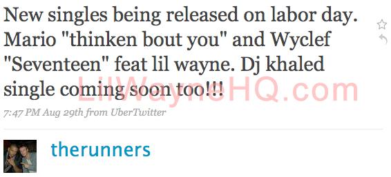 Wyclef Jean Seventeen featuring Lil Wayne Coming Soon