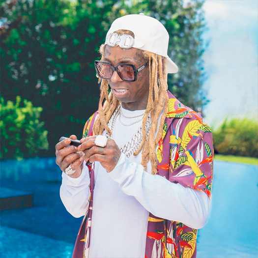 Thr3 Visual Captures Lil Wayne For A Currently Unreleased Project