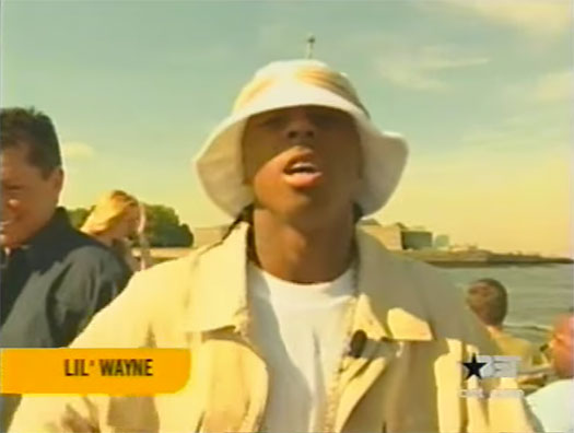 Lil Wayne & Cash Money Millionaires Host Rap City Top 10 Countdown In 2001