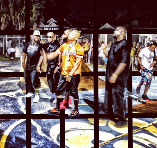 Photos From T.I. & Lil Wayne Ball Video Shoot In New Orleans