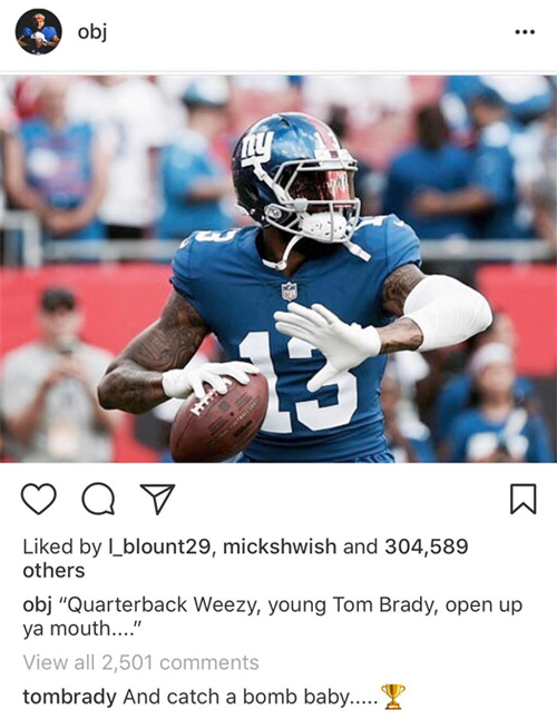 Tom Brady Is A Lil Wayne Fan, Listens To Tha Carter 4 In His Car & Finishes Lyrics On Odell Beckham Instagram