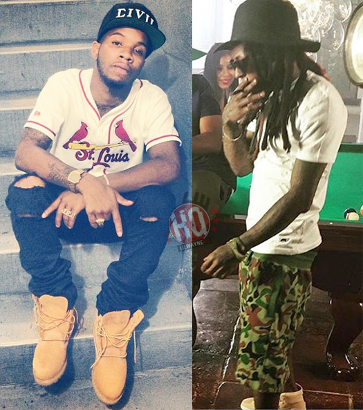 Tory Lanez Meets Lil Wayne For The First Time, Reveals He Is A Super Fan & Is Inspired By Him