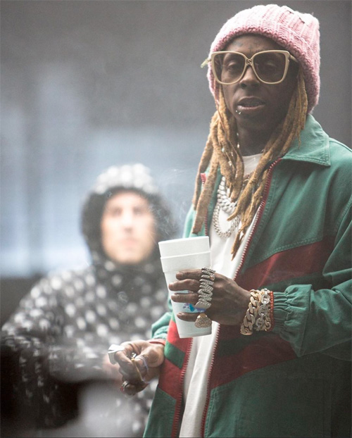 Travis Barker Gimme Brain Feat Lil Wayne & Rick Ross Music Video