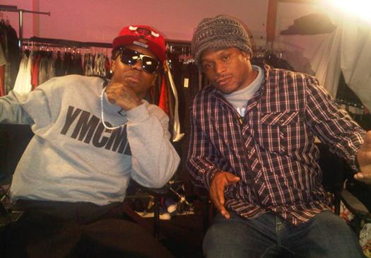 On Set Of Lil Waynes 6 Foot 7 Foot Video Shoot