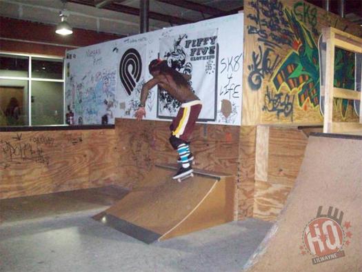 Lil Wayne Skating
