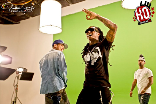 On Set Of Tygas Im On It Feat Lil Wayne Video Shoot