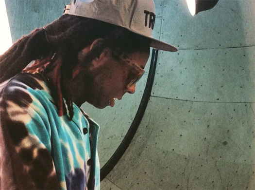 Unreleased Lil Wayne Music Plays While He Takes Part In A Photo Shoot