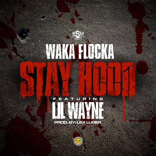 Waka Flocka Chama Fique capa Feat Lil Wayne