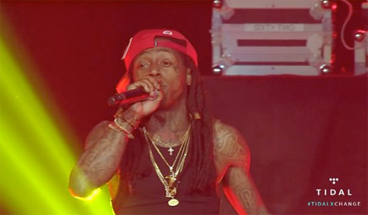 Watch Lil Wayne TIDAL X SWFC Live Show At The University Of Louisiana At Lafayette