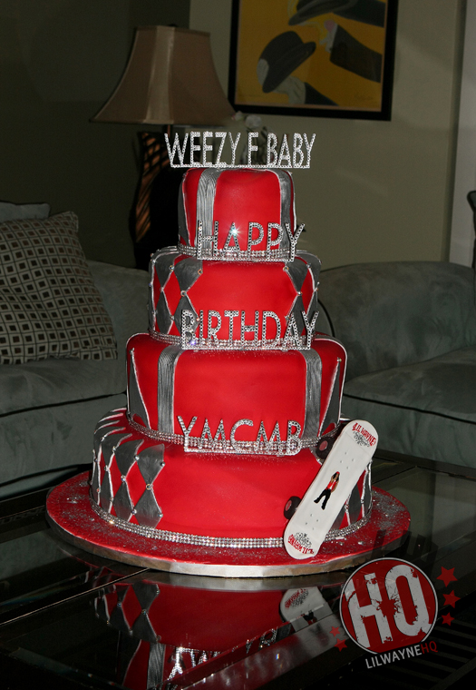 Lil Wayne 29th Birthday Cake