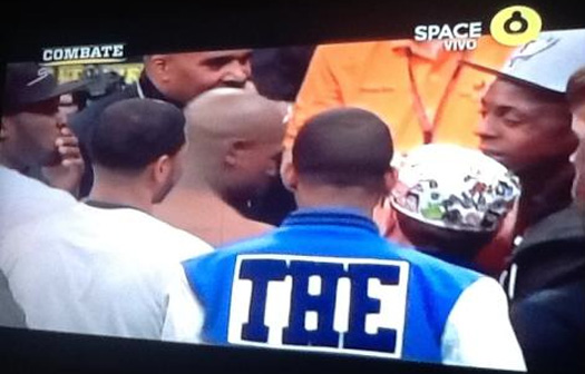 Lil Wayne & 50 Cent Meet At Mayweather & Cotto Fight