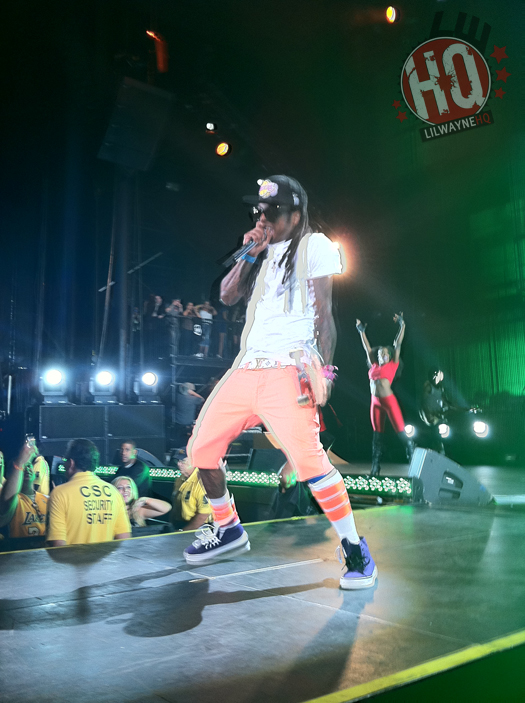 Lil Wayne Performs In California For I Am Still Music Tour