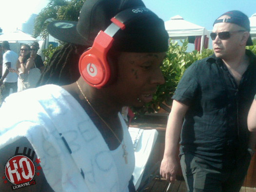 lil wayne's custom beats by dre