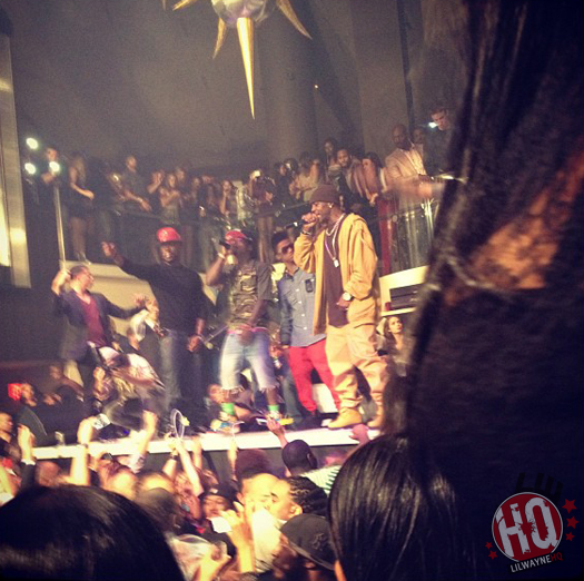 Lil Wayne Brings Out DMX At LIV Nightclub In Miami