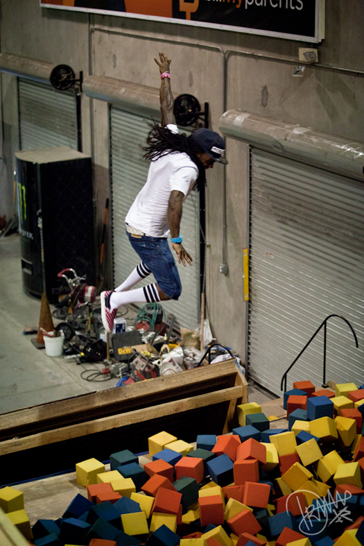 Pictures Of Lil Wayne Visiting Fantasy Factory Again