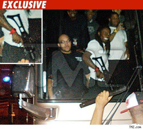 Breaking: Lil Wayne Detained By Texas Border Patrol