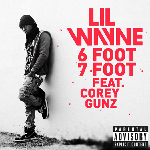 Lil Wayne Six Foot Seven Foot Single Cover