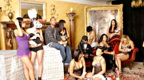 Pictures - Juelz Santana - Home Run Feat Lil Wayne Video Shoot