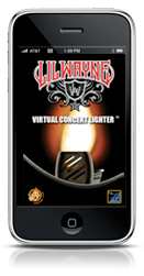 The Lil Wayne Virtual Concert Lighter iPhone App
